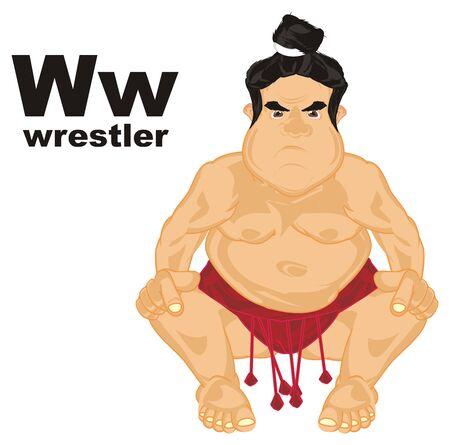 sumo wrestler and abc