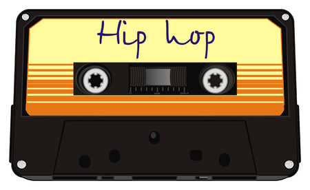 audio cassette with hip hop