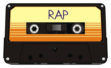 audio cassette with rap