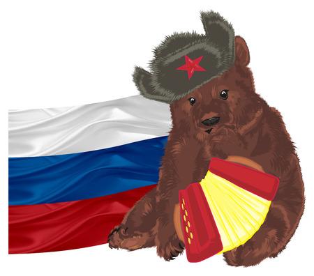 сестра картинки русский медведь на фоне флага россии фотографии королёве список