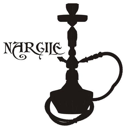 solid black nargile