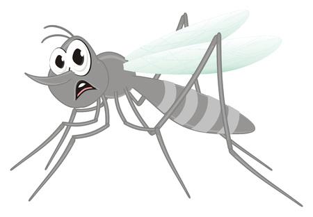 sad mosquito sit