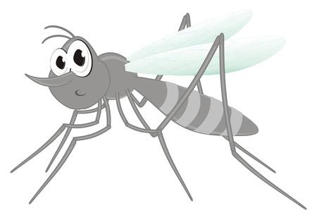 surprise mosquito sit
