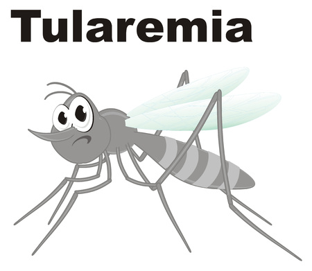evil mosquito and tularemia
