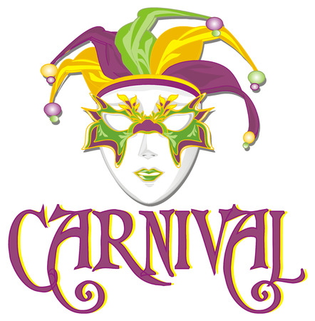 carnival and mardi gras mask