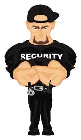 security at work Stock Photo - 117760555