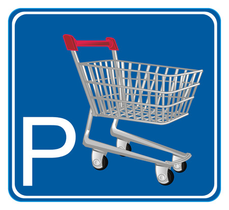parking shopping trolley