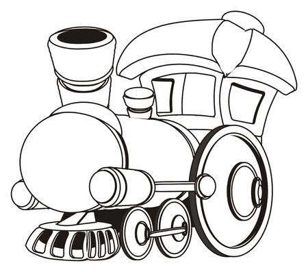 paint toy train