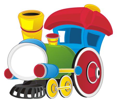 toy train Banco de Imagens - 123873042