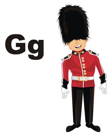 guardsman and letters g