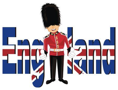 England and guardsman