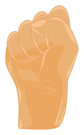 one human fist Banco de Imagens - 124964567