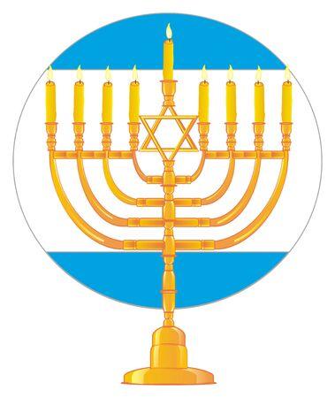 Jewish holiday Hanukkah Reklamní fotografie