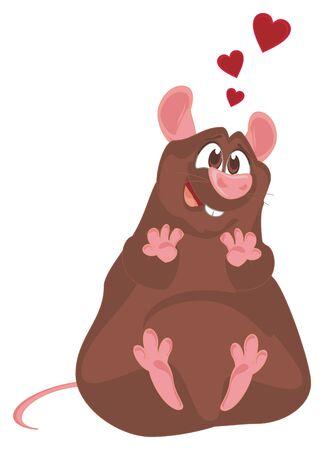 rat in love