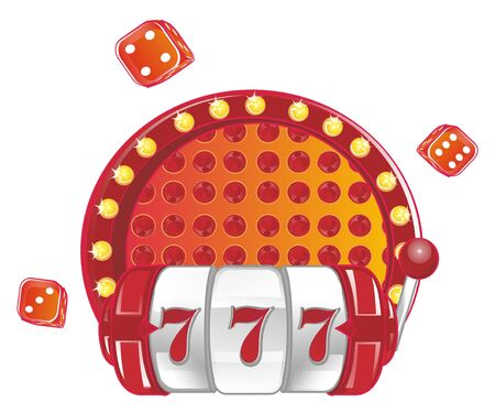 slot and red dice