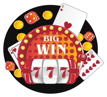 big win and casino Фото со стока