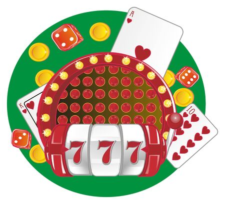 casino and green background