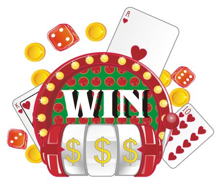 play and win in casino Imagens