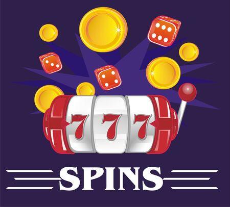 spins on slot Imagens
