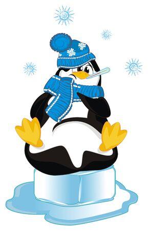 sick penguin