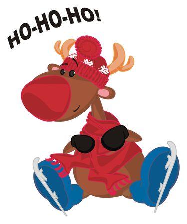 deer say ho-ho-ho