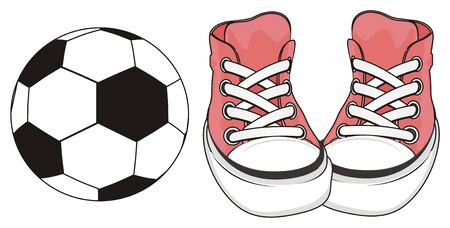 soccer with pink gumshoes