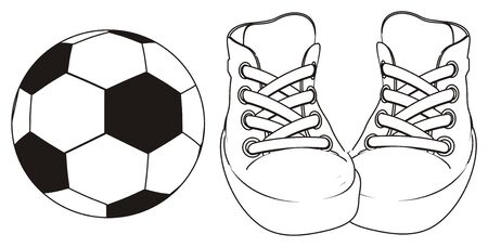 coloring football and gumshoes