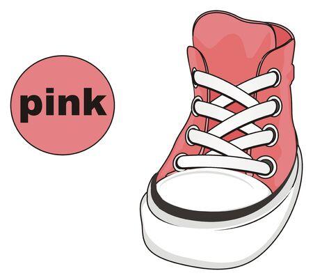 gumshoes is pink