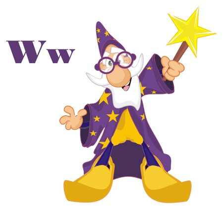 wizard and letters w
