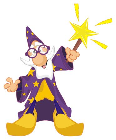 wizard and flashes