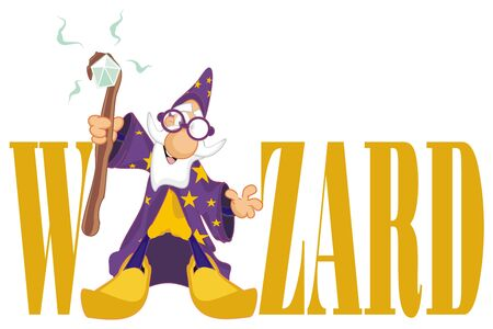 wizard and letters