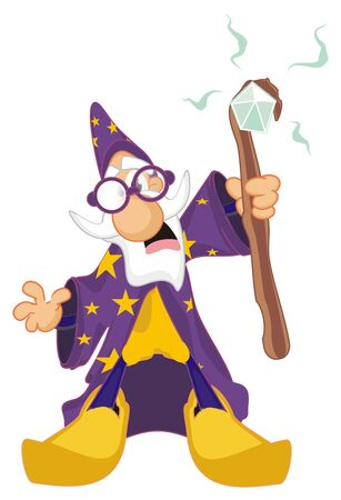 scary wizard
