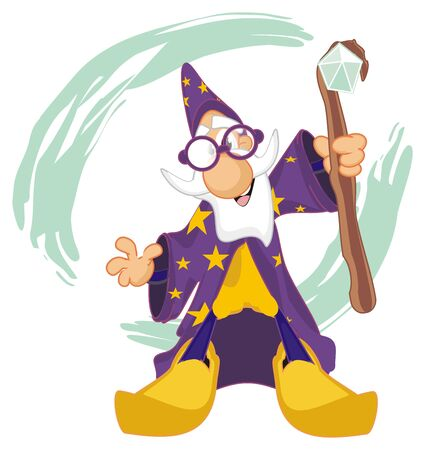 wizard and magic time