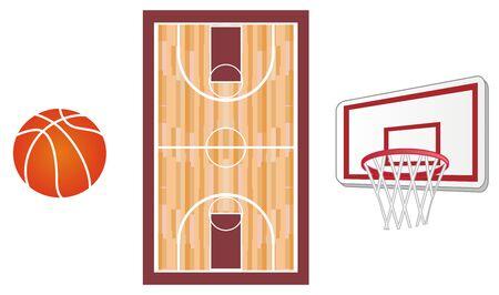 many symbols of basketball