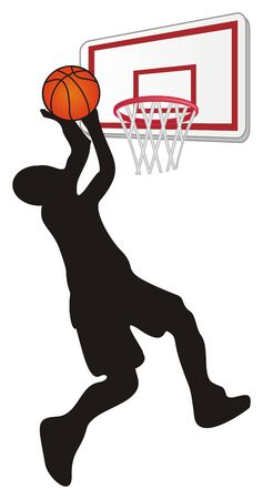 man and basketball Foto de archivo - 135382671
