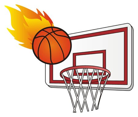 hot basketball game