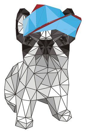 pepercraft french bulldog 写真素材
