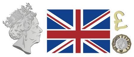 symbols of London Stockfoto