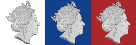 post marks of queen Elizabeth II