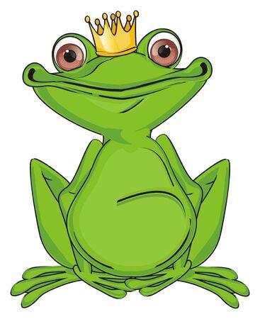 princess green frog