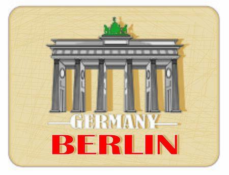 card of Berlin