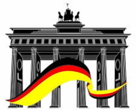 architecture of Berlin Stock fotó