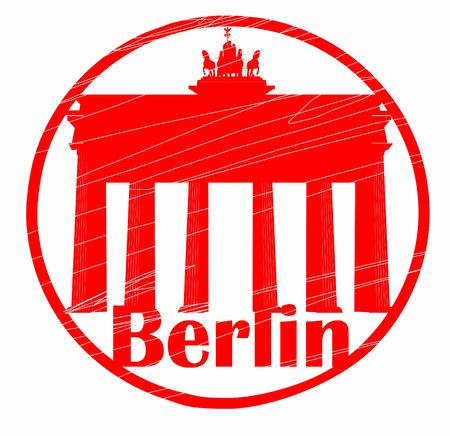 stamp of Berlin