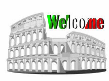 welcome to coliseum Stock fotó