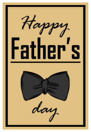 paper card for daddy day 免版税图像