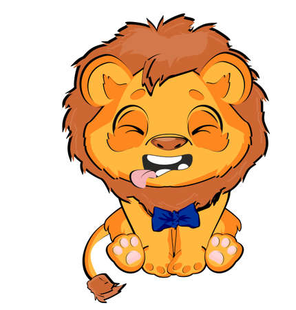 crying lion