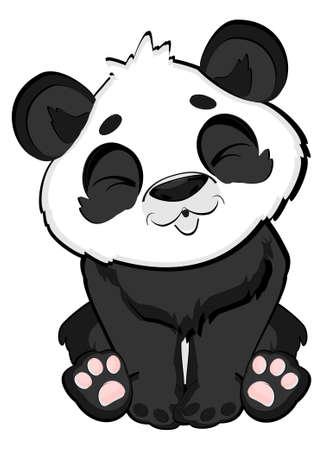 lazy panda Stock fotó