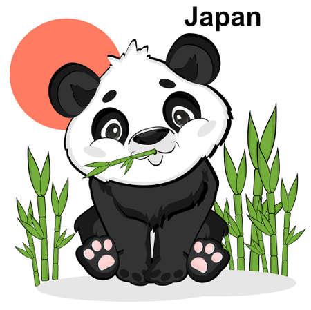 panda live in Japan