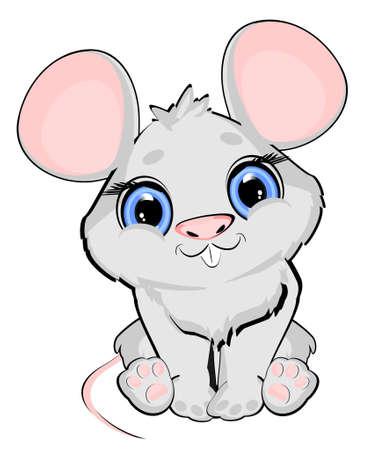 little cute mouse Stock fotó