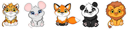 animals toy cartoon Stock fotó